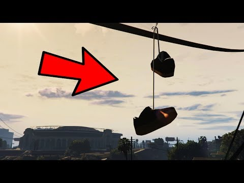 DO YOU KNOW THE MEANING OF A PAIR OF SHOES HANGING ON A POWER LINE? (GTA 5)