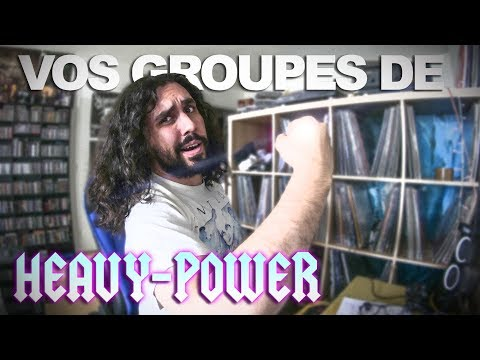 TOP 20   VOS GROUPES DE HEAVY/POWER METAL PRÉFÉRÉS
