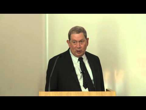 John C. Martin - Tony Holý Lecture 2015