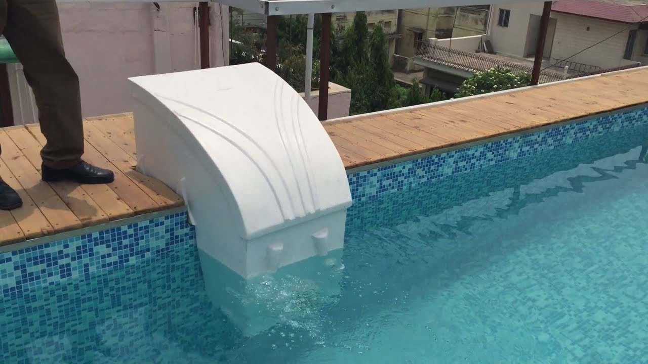 prefabricated swimming pool roof top by arrdevpools