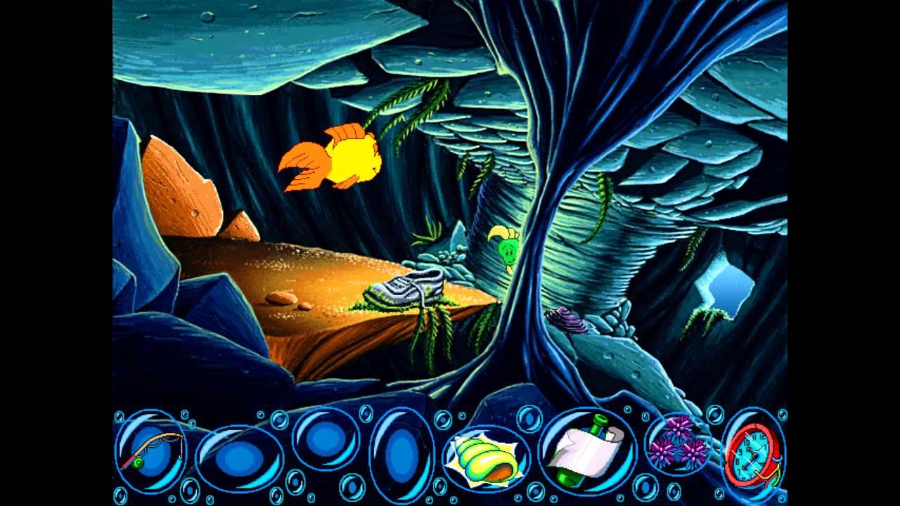 Freddi Fish En Het Verhaal Van De Verdwenen Zeewierzaadjes