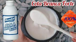 Como Fazer Cola Caseira – Muito Boa