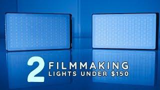 2 Filmmaking Lights Under $150 - Digital Foto YY120 & YY150 RGB LED Light Review