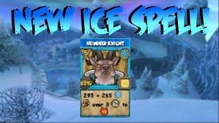 Wizard101: Winter Wonder Pack New Spell! (Reindeer Knight)