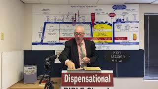 Fundamentals of Dispensationalism Lesson 5