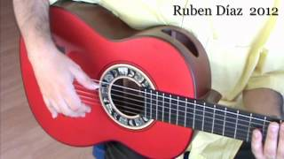Interactive (2) Tangos Muted Strumming  Lesson / 114  bpm Ruben Diaz Flamenco CFG studio  Malaga