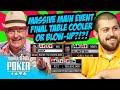 Crazy Hand Alert! Scott Blumstein vs John Hesp | 2017 WSOP Main Event Final Table