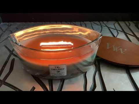 WoodWick Trilogy Ellipse Candle