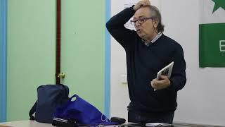 Jose Antonio del Barrio y Miguel Fernández, Día Mundial del esperanto 2018