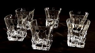 Обзор Posudaclub.kiev.ua - Стаканы для виски Bohemia Crack 310мл 6пр
