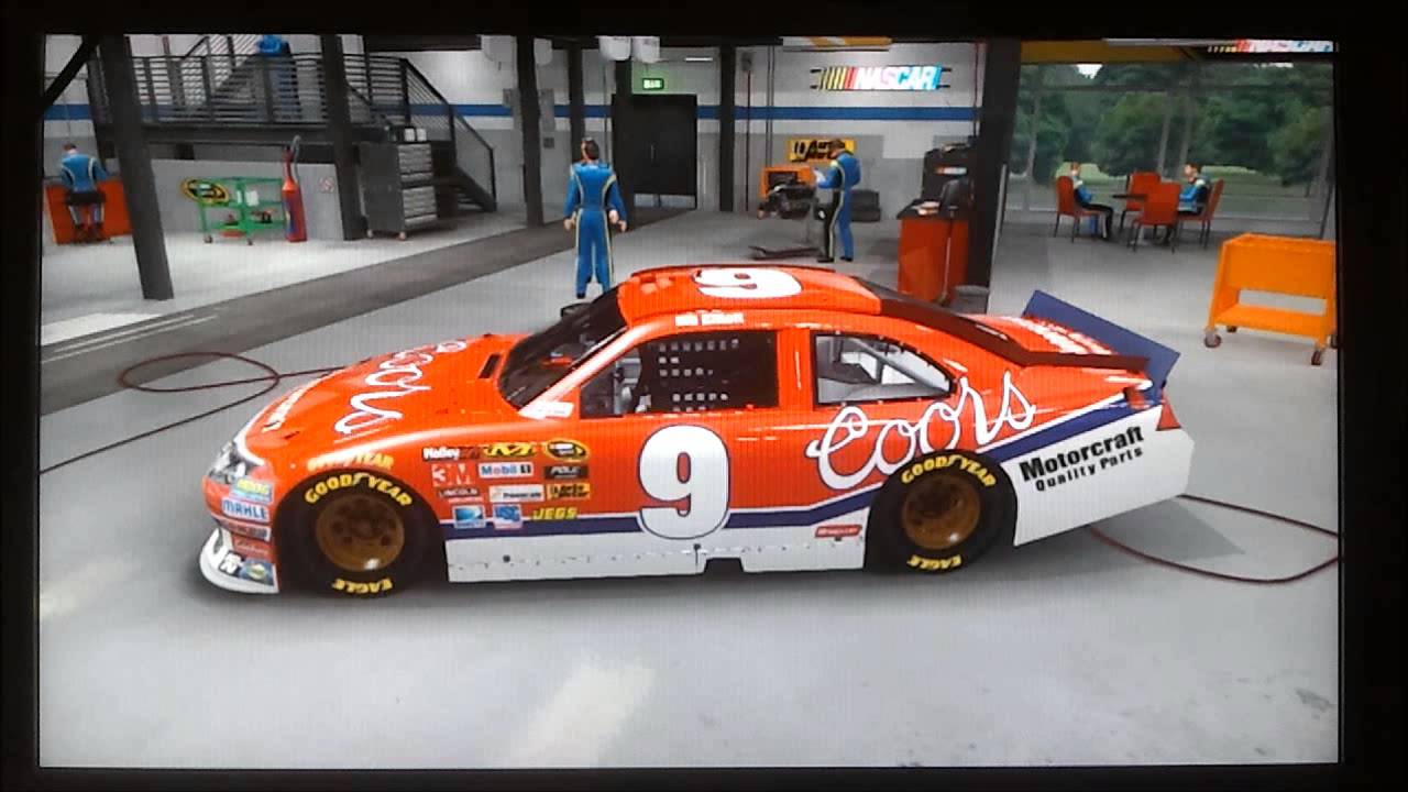 NASCAR The Game Inside Line Custom Cars Part 2 - YouTube