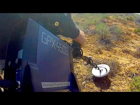 Metal Detecting A Gold Nugget With The Minelab GPX 4500