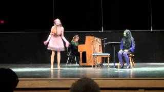 Casalyn sings Popular from Wicked