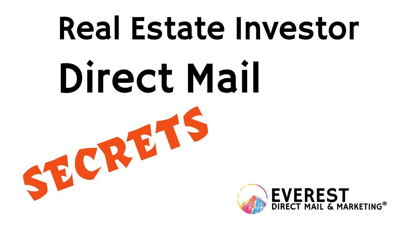 Real Estate Investor Postcard and Yellow Letter Mailing Secrets