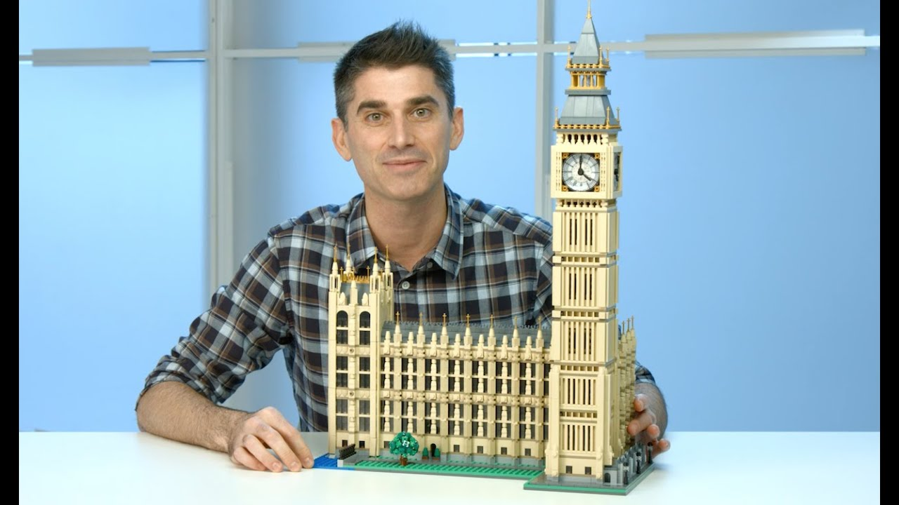 Big Ben Lego Creator 10253 Designer Video