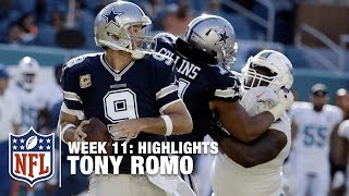 Tony Romo Makes an Impactful Return (Week 11) | Cowboys vs. Dolphins | NFL Highlights