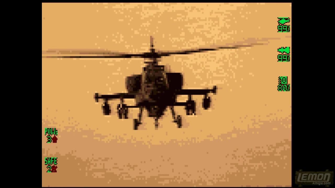 (5K Subs!!) Desert Apache (Amiga) - A Special Playguide - by LemonAmiga com