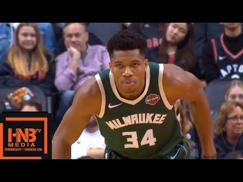 Toronto Raptors vs Milwaukee Bucks 1st Qtr Highlights | 12.08.2018, NBA Season
