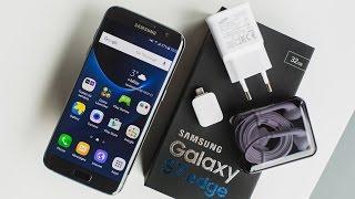 فتح صندوق ومراجعة سريعة لجهاز Samsung Galaxy s7 edge