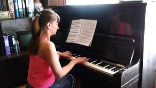 """Красивая мелодия на пианино Вальс из кинофильма """"Мой ласковый и нежный зверь"""""""