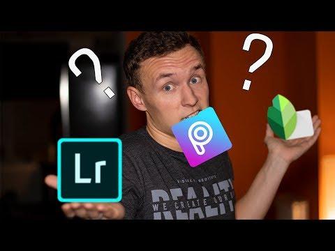 ЛУЧШЕЕ приложение для ОБРАБОТКИ ФОТО на телефоне 2019: Snapseed, Lightroom, Photoshop, PicsArt?