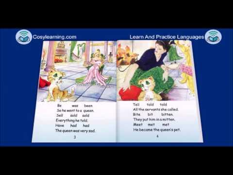 Story Irregular Verbs The Kitten In The Mitten  1 by Kenan Dursun