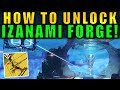 Destiny 2: How to Unlock the IZANAMI FORGE! | Black Armory