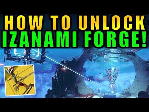 Destiny 2: How to Unlock the IZANAMI FORGE! | Black Armory thumbnail