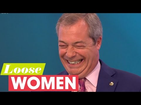 Nigel Farage On Reality Shows And Skinny Dipping Rumours | Loose Women