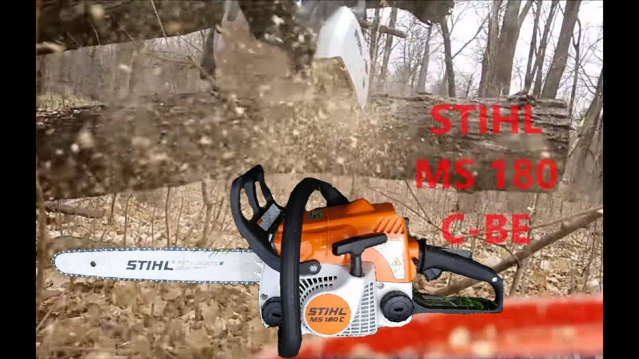 STIHL MS 170 CHAINSAW REVIEW - YouTube