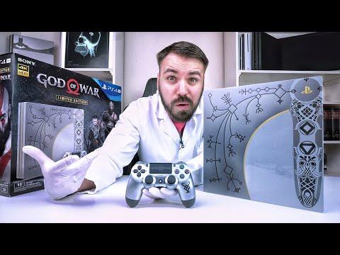 Die schönste PS4 aller Zeiten... God of War Limited Edition PS4 Pro