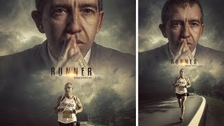 Photoshop Tutorial | Movie Poster | Manipulation Photo Effects Runner