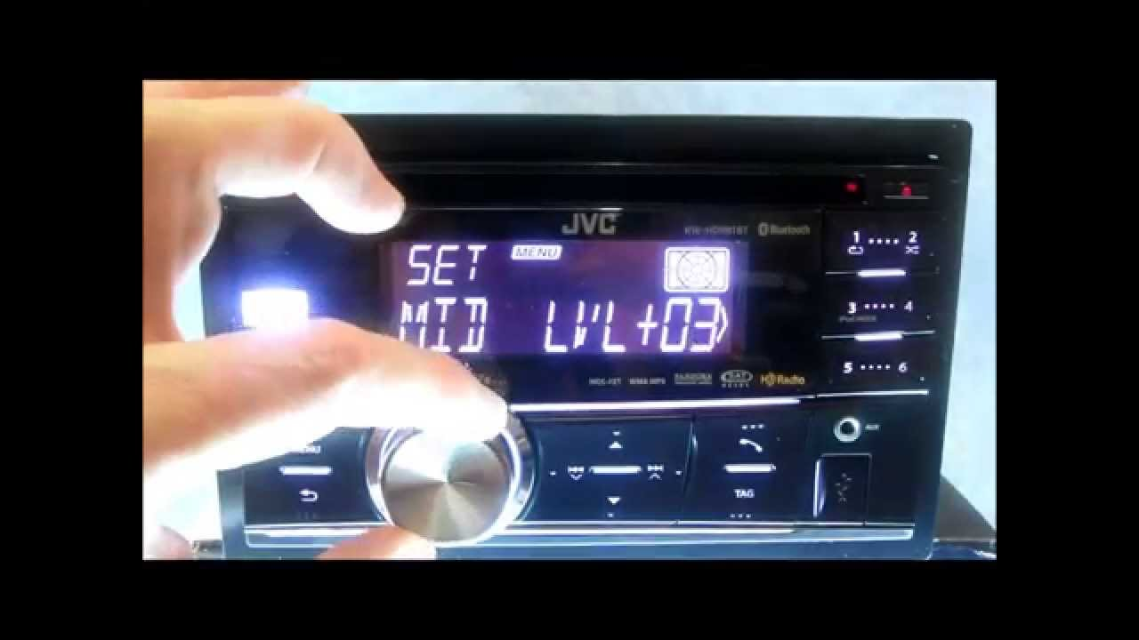 JVC KD HDR81BT Stereo Review And Demo YouTube – Jvc Kd-s48 Wiring Diagram