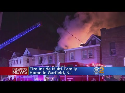 Fast Moving Fire Rips Through Multi Family Home In Garfield New Jersey Youtube