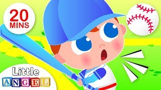 Take Me Out to The Ball Game | Humpty Dumpty, Johny Johny | Nursery Rhymes & Kids Songs Little Angel