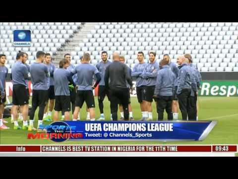 Sports This Morning: Leicester Ready For Atletico Madrid In UEFA Champions League Fixtures