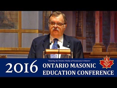 Masonic Life of R.W. Bro. Sir John A. Macdonald - 2016 Ontario Masonic Education Conference