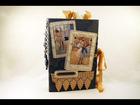 The Ballerinas by Degas - a keepsake junk journal