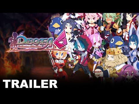 Disgaea 6: Defiance of Destiny - System Trailer (Nintendo Switch)