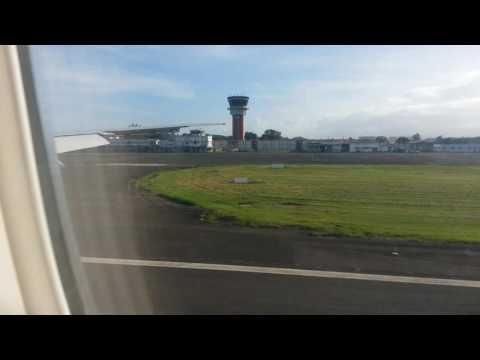 AIR FRANCE 777 LANDING PTP - ATTERRISSAGE GUADELOUPE AF792