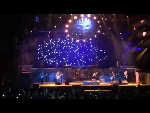 Iron Maiden - Blood Brothers live @ LeSports Center, Beijing, China - 24th April 2016
