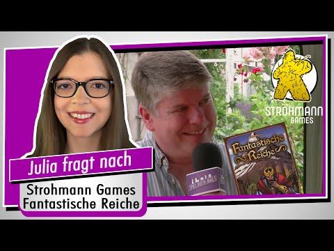 Im Interview: Marcel Straub (Fantastische Reiche / Strohmann Games) - Spiel doch mal!