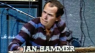 """Jan Hammer performing """"You Know, You Know"""" with the Mahavishnu Orch..."""