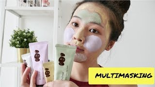 How to MULTI-MASK | Innisfree Jeju Volcanic Color Clay Mask