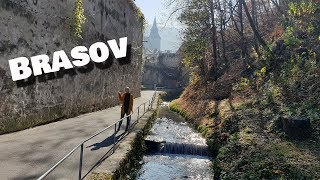 Exploring Brasov, Romania | I got so scared