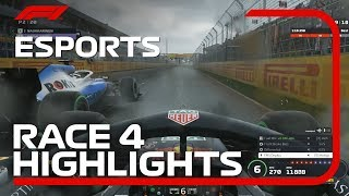 F1 Esports Pro Series 2019: Race Four Highlights