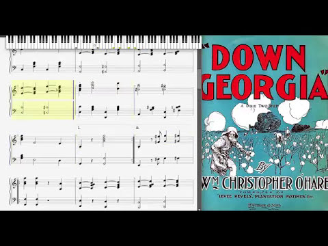 Down Georgia by William Christopher O'Hare (1902, March piano)