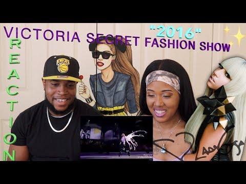 Lady Gaga A-YO , John Wayne live Victoria's Secret Fashion show Performance 2016 | Reaction |