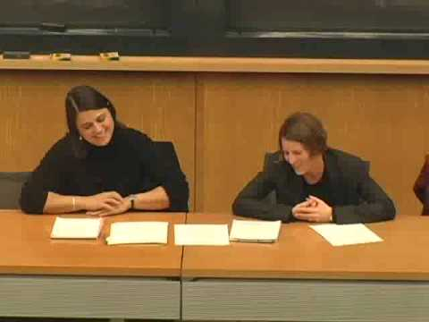 Gleitsman Lecture Series: Rebecca Onie & Nell Perlmutter on YouTube