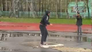 Легкая атлетика. Человек дождя. май  2012
